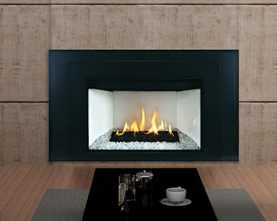 White Mountain Hearth Luxury Loft Contemporary Insert