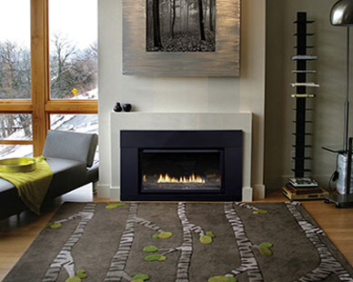 White Mountain Hearth Loft Series Contemporary Direct-Vent Insert