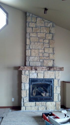 Built-In Gas Fireplace