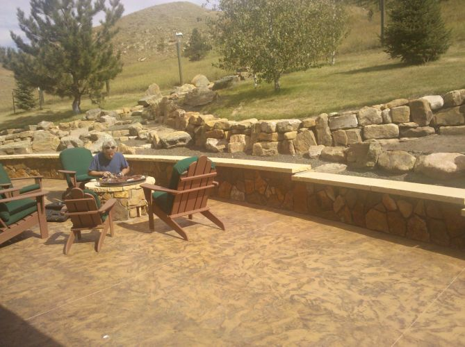 Gas Firepit - Outdoor Patio