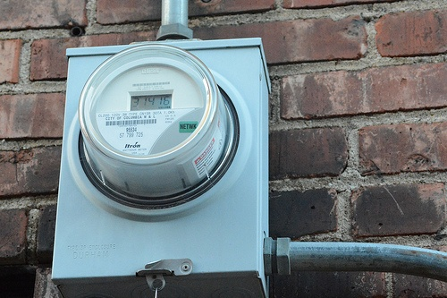 Utility Meter Indication Energy Prices are increasing