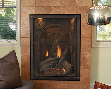 White Mountain Hearth Forest Hills Built In