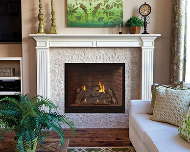 White Mountain Hearth Tahoe Clean-Face Luxury Traditional