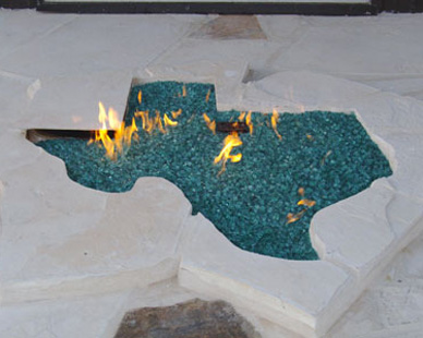 Custom Shaped Fire Pits