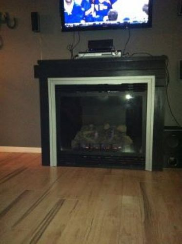 Built-In Gas Fireplace - Custom Surround 2