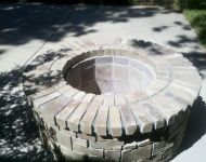 Outdoor Firepit - Construction 2