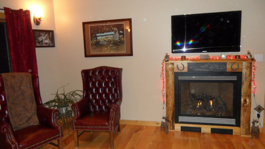 Built-In Gas Fireplace 2