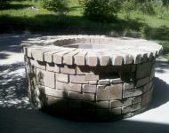 Outdoor Firepit - Construction 1